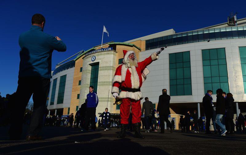 Chelsea dan perayaan Natal.