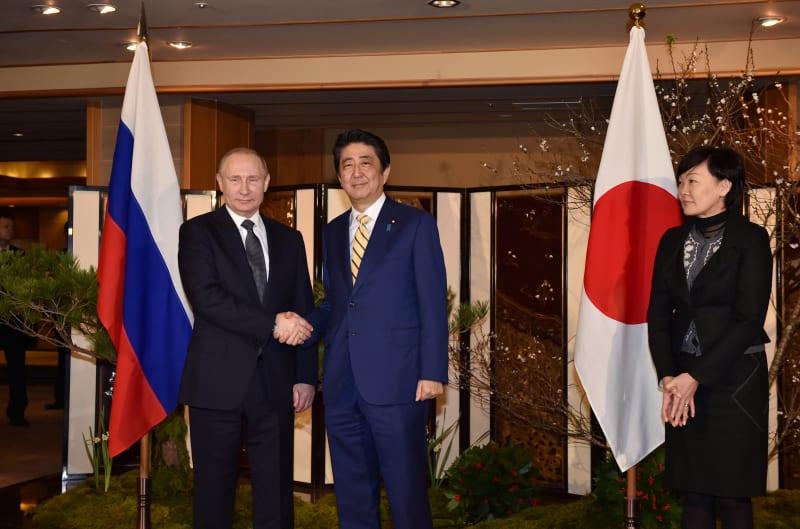 Putin dan Shinzo Abe