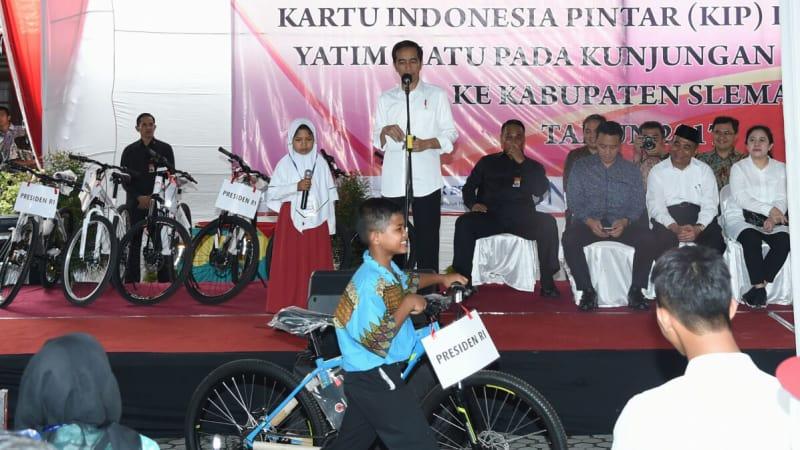 Jokowi di Yogyakarta