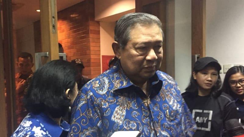 SBY di DPP Demokrat
