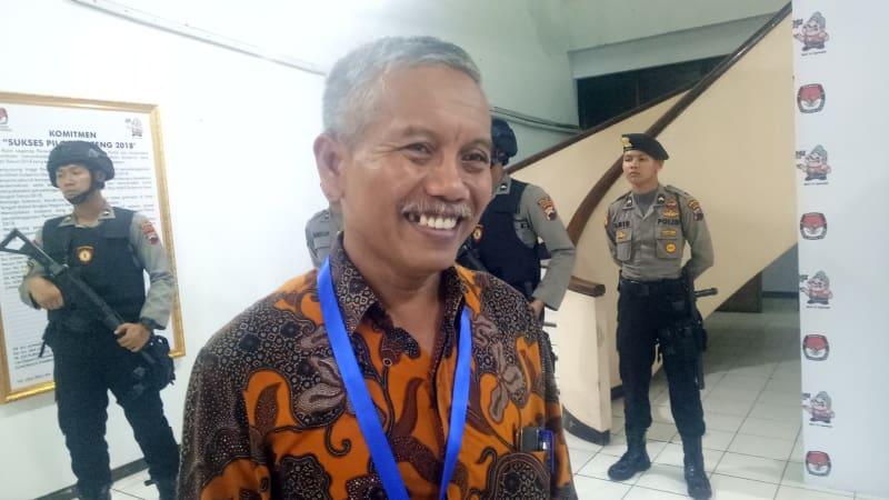 Ketua KPUD Jateng, Joko Purnomo