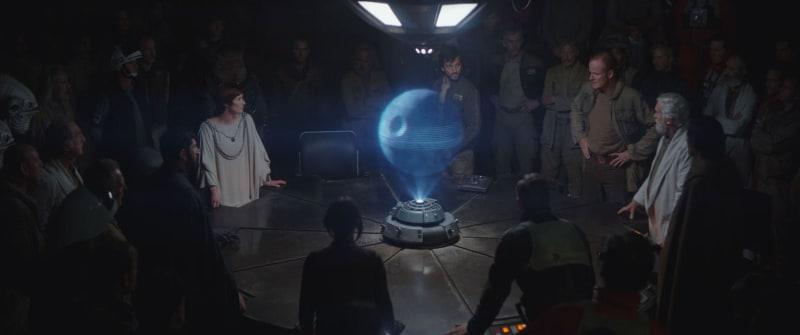 Para Pemimpin Rebels Merundingkan Skema Death Star