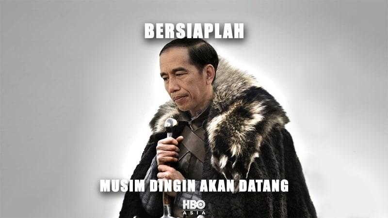 Meme Jokowi oleh HBO Asia