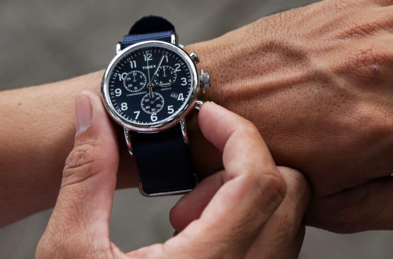 Jam Tangan Timex Weekender Chrono Oversize