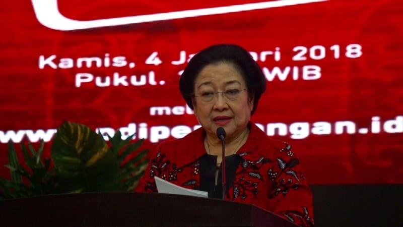 Ketua Umum PDIP, Megawati Soekarnoputri