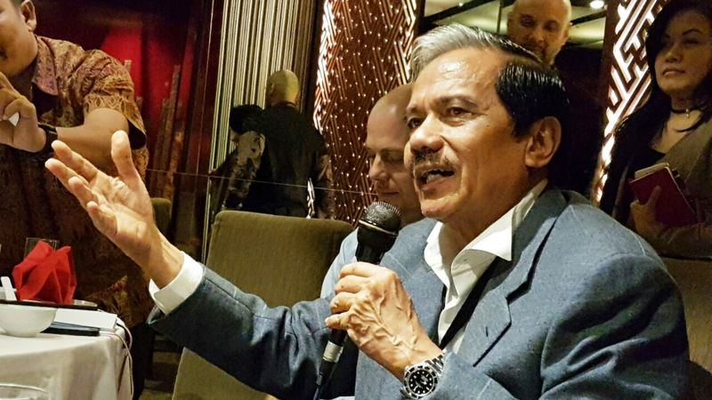 Presiden Direktur PT Freeport Chappy Hakim