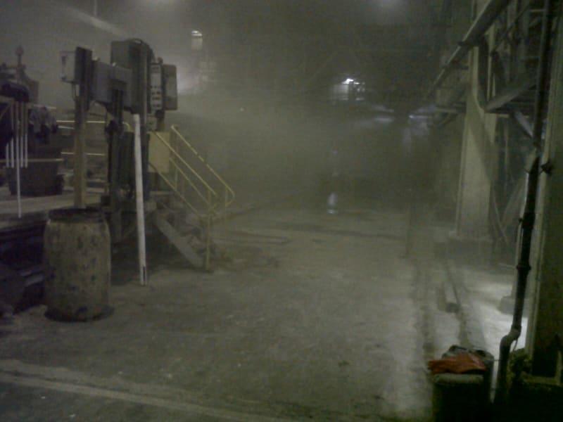 Kondisi Salah Satu Pabrik Asbes