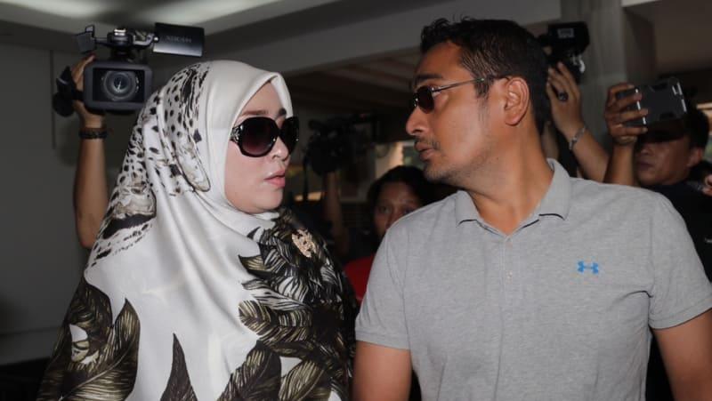 Firza Husein di Polda Metro Jaya