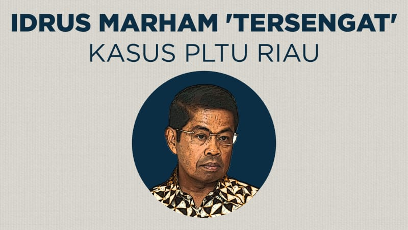 Infografik: Idrus Marham Tersandung Korupsi PLTU Riau ...