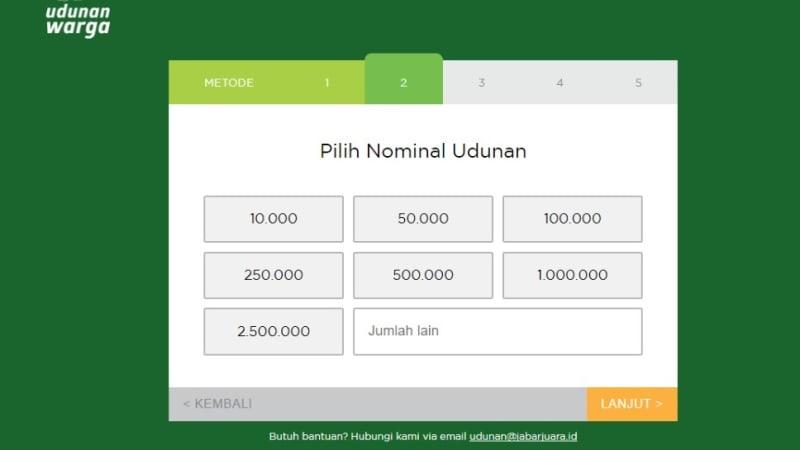 'Udunan' untuk Ridwan Kamil-Uu