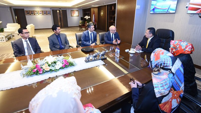 Bambang Soesatyo dan Juru Bicara PM Irak