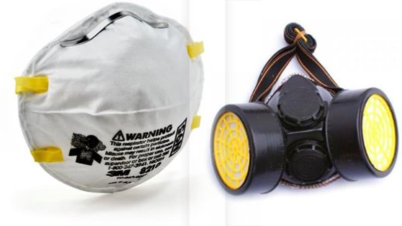 Masker  3M dan respiratory mask