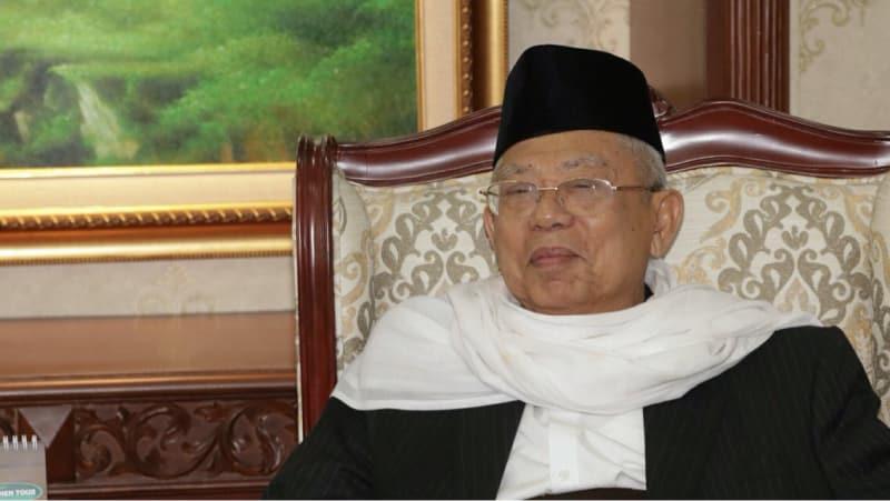Ketua MUI Ma'aruf Amin