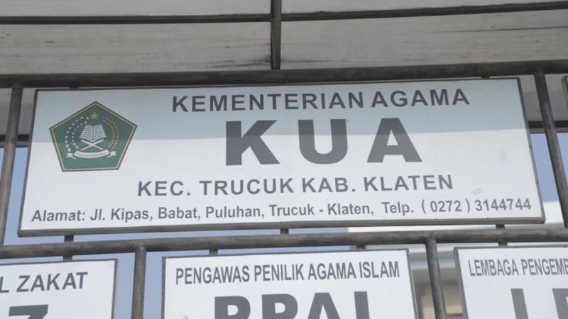 KUA Trucuk, Klaten, Jawa Tengah