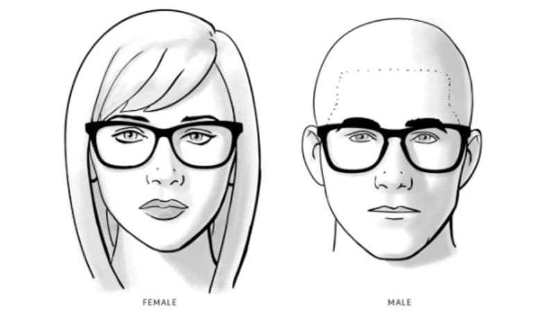 Pilihan Kacamata Berkualitas dan Pelayanan Terbaik di Optik Tunggal - Kesehatan Mata vs Fashion - Wajah Oval
