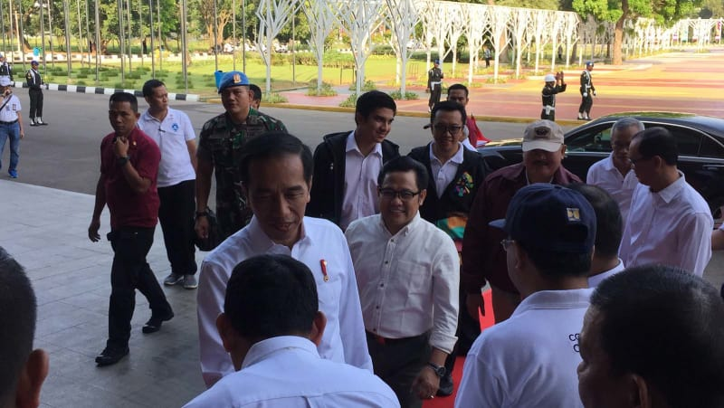 Jokowi Tinjau Venue Asian Games 2018, JSC, Jakabaring, Palembang