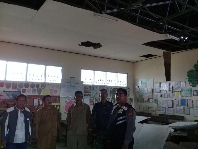 Kerusakan di Bogor akibat gempa banten