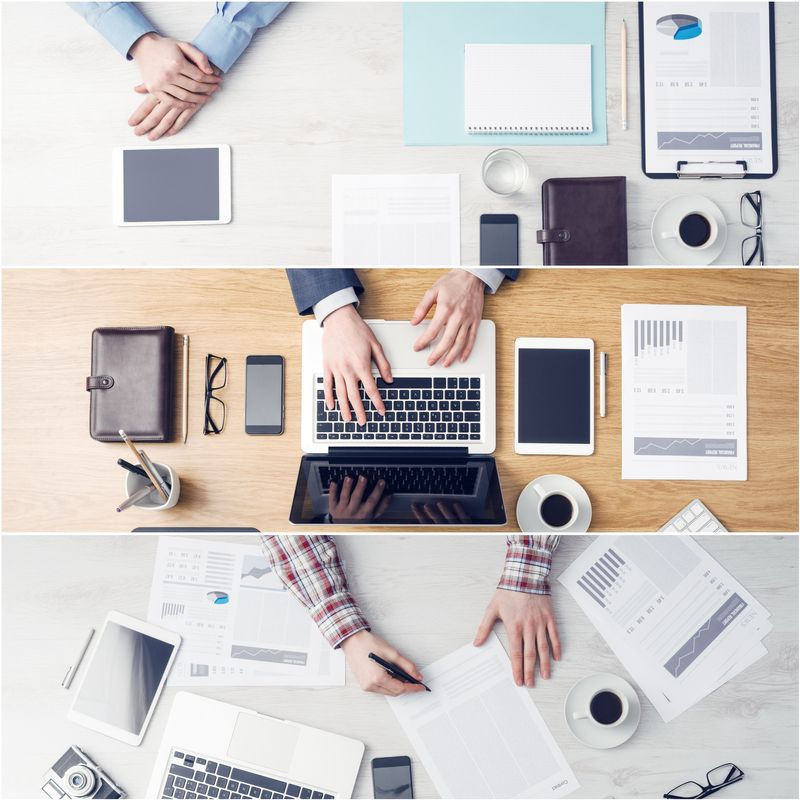 Com-Merapihkan Meja Kerja