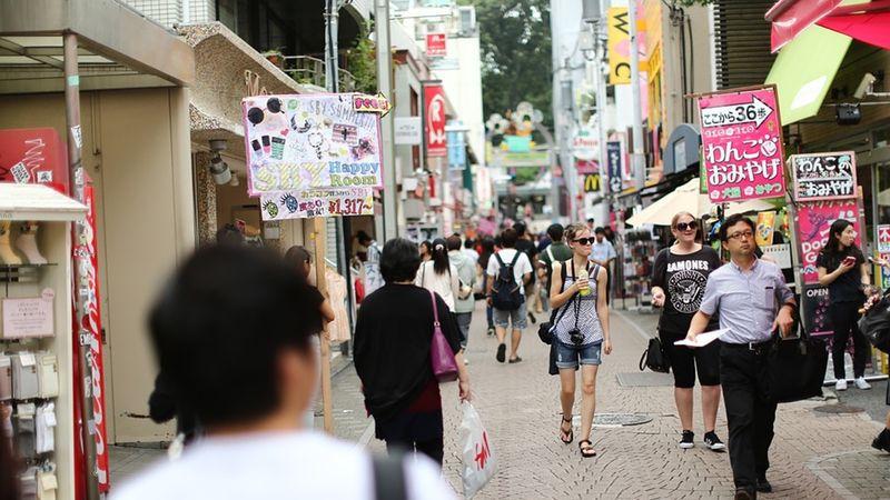 Ilustrasi Kota di Jepang