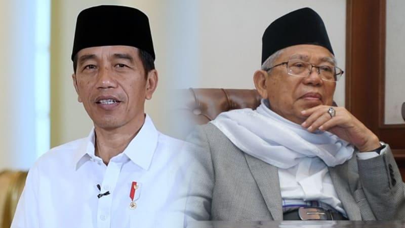 Jokowi, Ma'ruf Amin, kolase