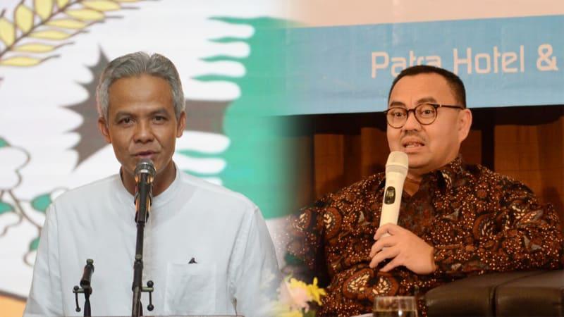 Ganjar Pranowo dan Sudirman Said