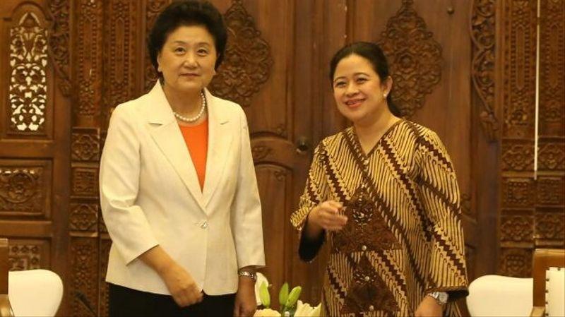 Puan Maharani bersama Wakil PM China Liu Yandong