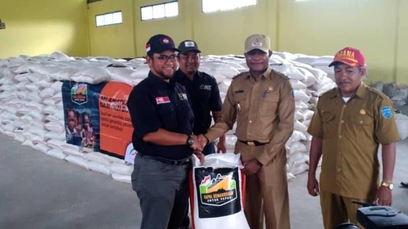 Distribusi bantuan ACT di Kabupaten Asmat