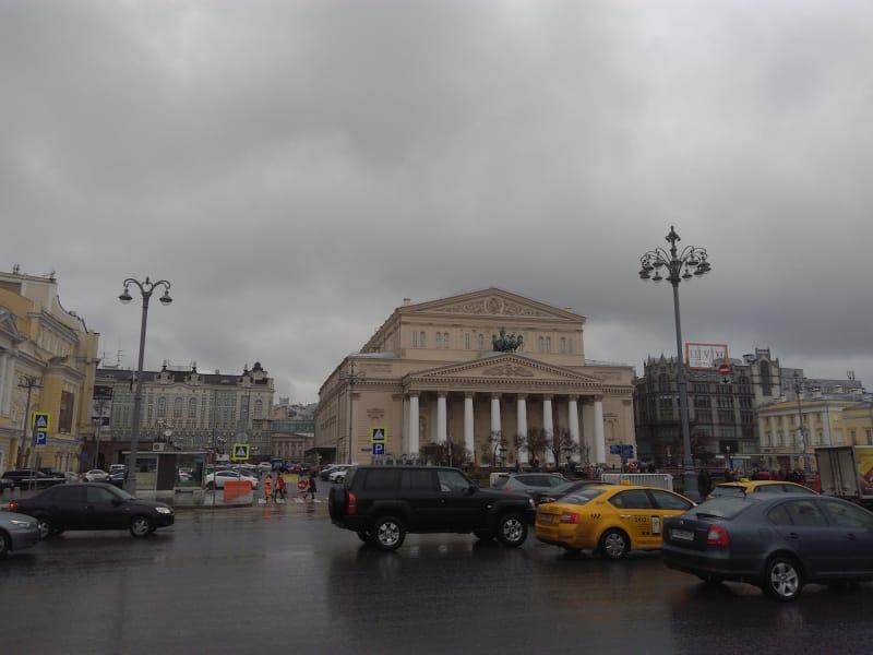 Jalanan Moskow