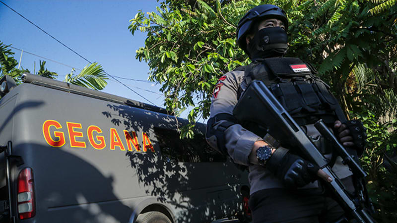 Polisi Batam tangkap teroris (HL Landscape)