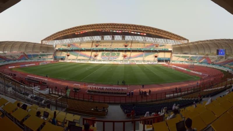 Stadion Wibawa Mukti Cikarang Timur Sepak Bola Asian Games