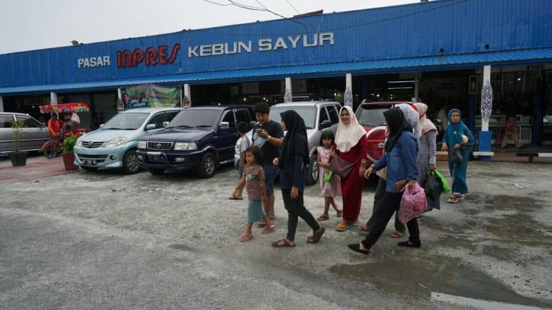 Pasar Kebun Sayur, Balikpapan, Kalimantan Timur