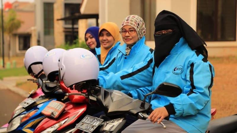Layanan Ojek Online Syariah Ojesy