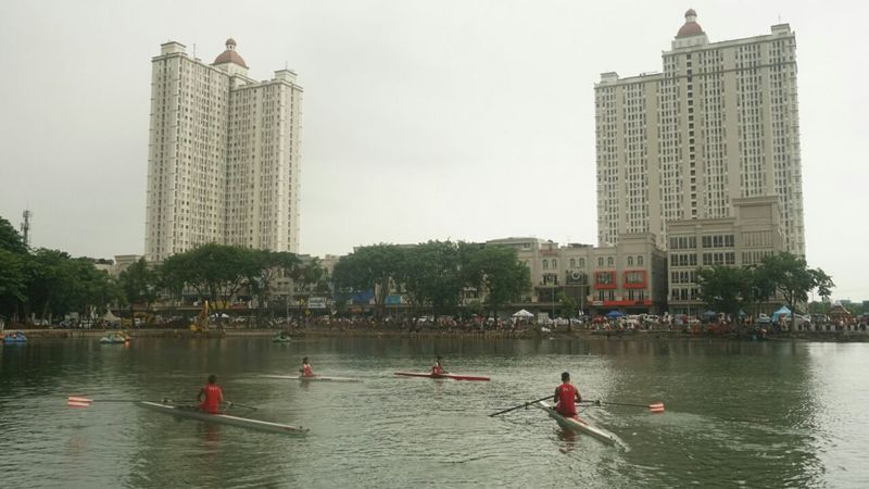 PPLP DKI Jakarta mengikuti HBKB di Danau Sunter