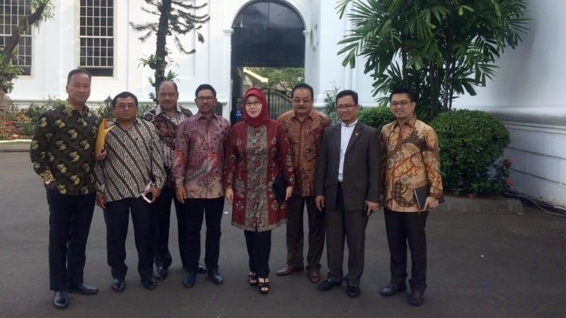 Parpol Pendukung Pemerintah ke Istana