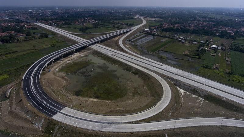Pembangunan Tol Pejagan-Pemalang