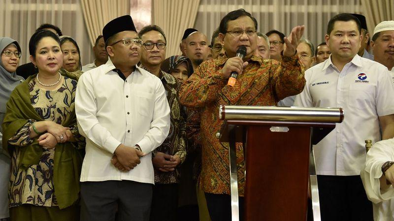 Silaturahmi tokoh nasional di rumah Prabowo