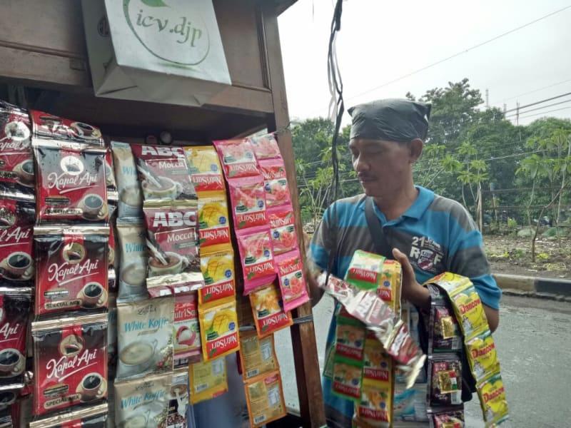 Sisa-sisa penggusuran di Rawajati, Jakarta Selatan
