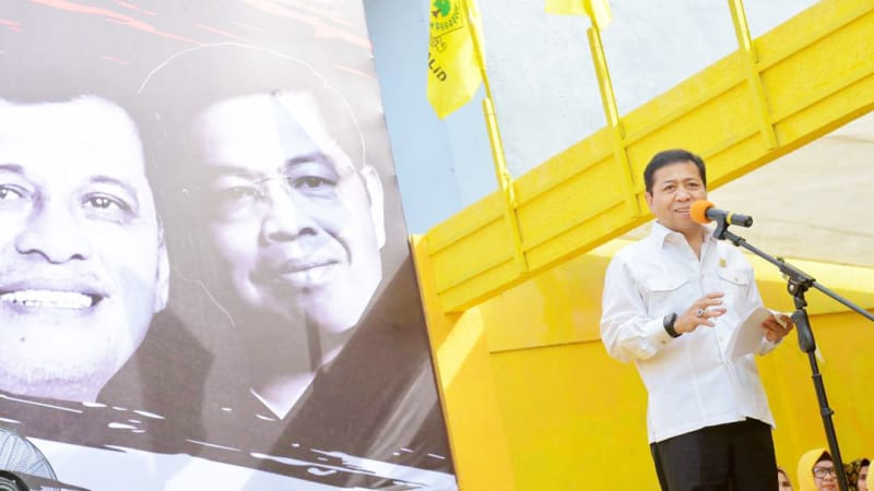 Ketua Umum DPP Partai Golkar Setya Novanto
