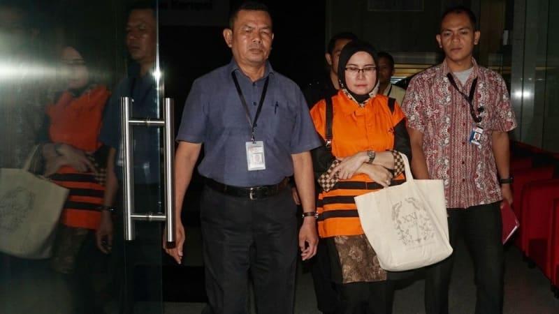 Hakim Wahyu Widia tinggalkan KPK.