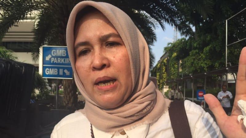 Asma Dewi hadir bersama massa Aksi Bela Islam