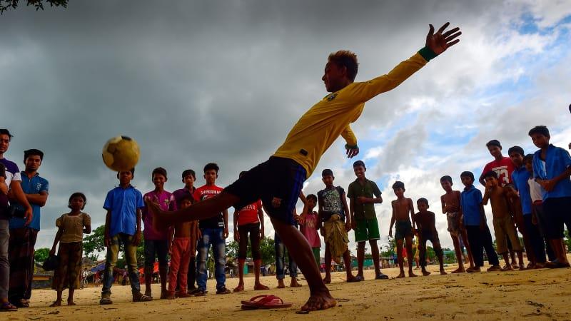 Rohingya, Sepak Bola, Piala Dunia, World Cup