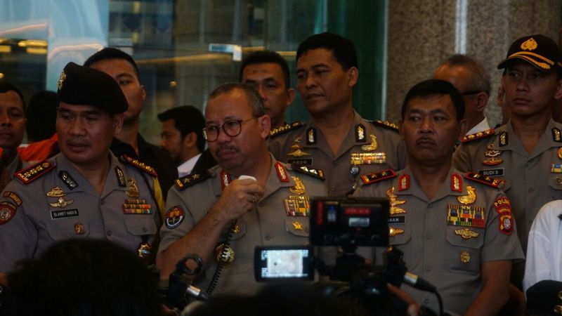 Irjen Pol Setyo Wasisto di gedung BEI