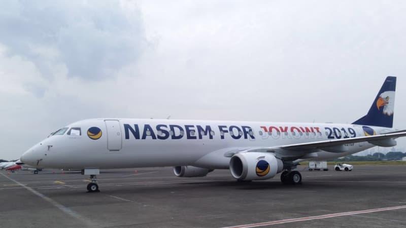 Pesawat Nasdem untuk Jokowi
