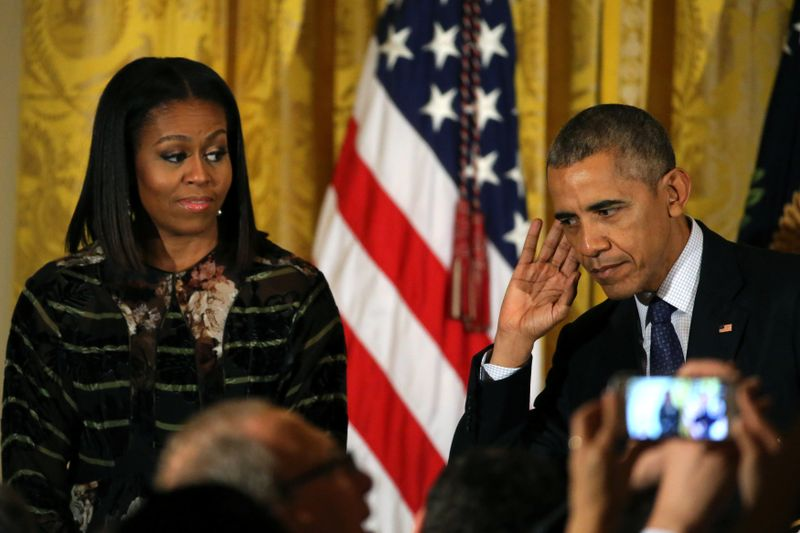 Michelle dan Barack Obama