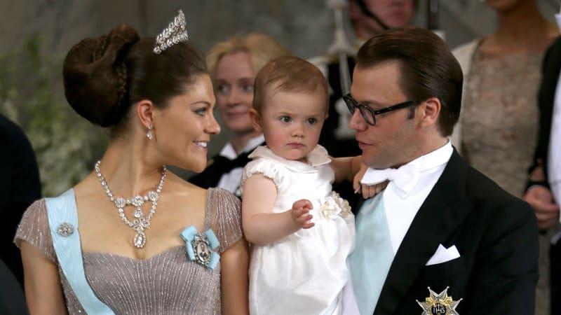 Putri Mahkota Victoria bersama Keluarga