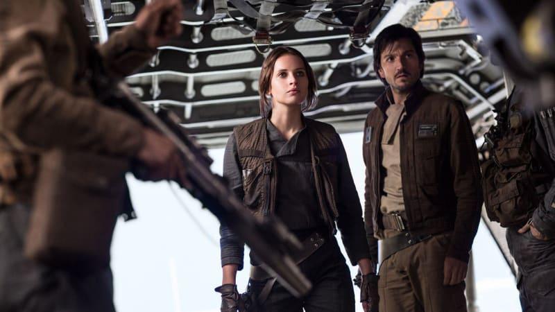 Rogue One, Jyn Erso dan Kapten Andor