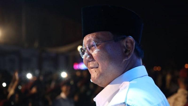 Prabowo Subianto di Rakornas Gerindra