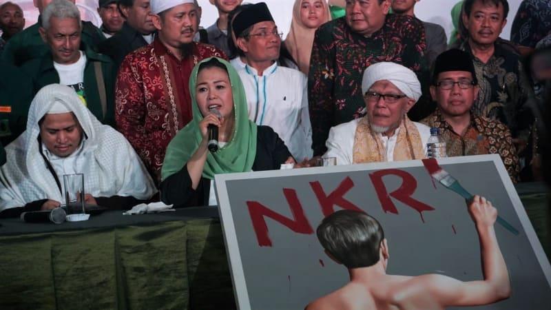 Konsorsiun Kader Gus Dur, Deklarasi Dukungan Jokowi - Ma'ruf