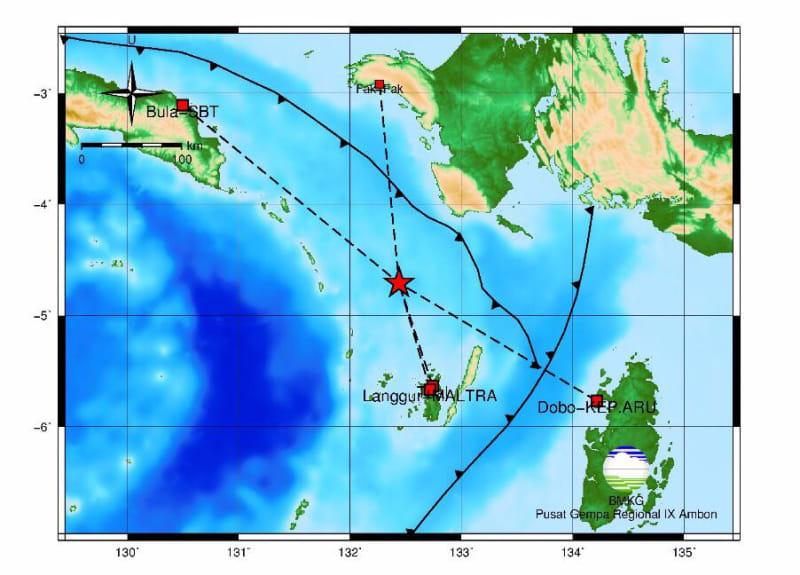 Gempa Kota Tual