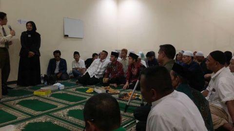 Malam silaturahmi Aqua bersama peserta umrah